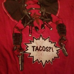 Limited edition deadpool shirt